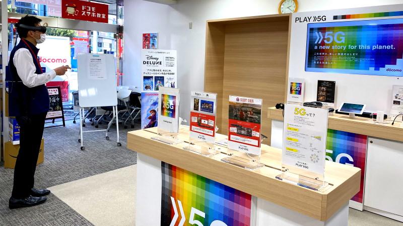 瑞江店で 5G の体験コーナーがオープンしました!
